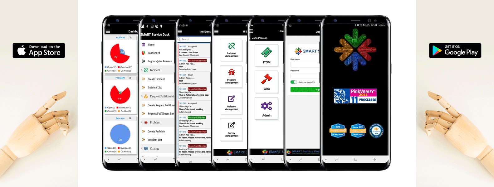 smart desk mobile apps